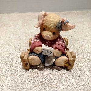 Tlp this Little Piggy pen pals figurine